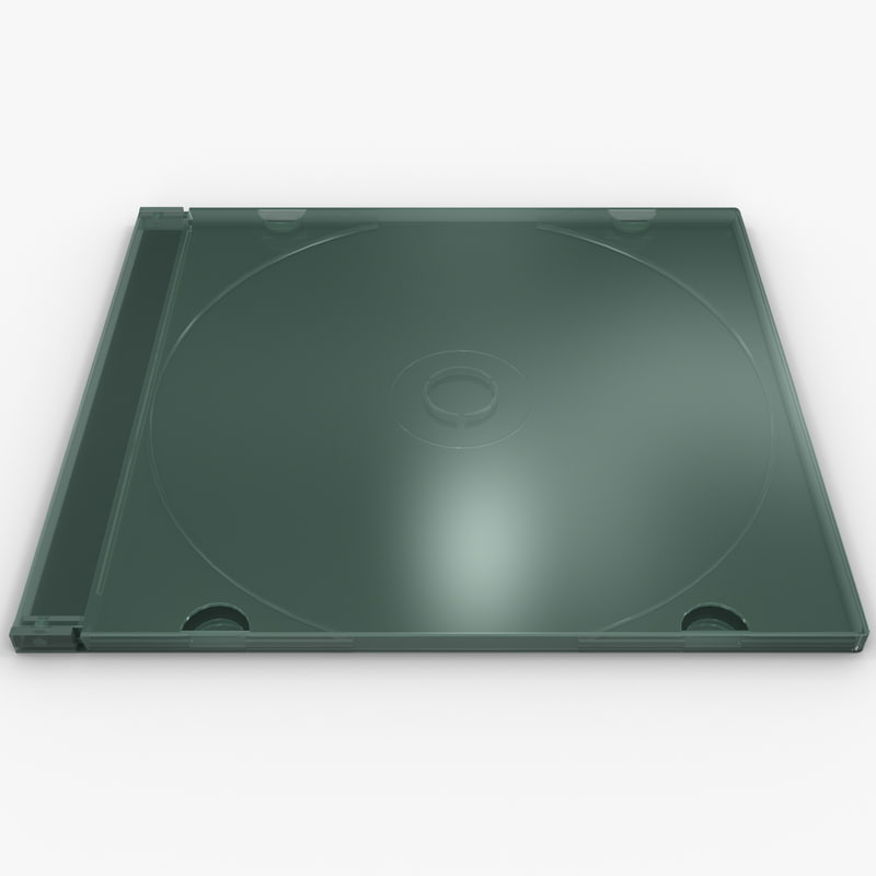 3d cd jewel case