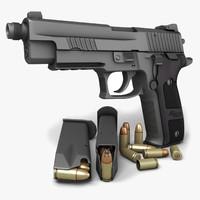 Sig Sauer P226 Dark Elite TB 9mm