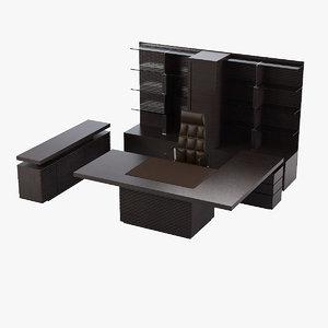 ultom artom taiko office furniture 3d max