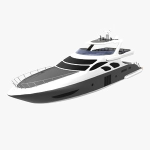 3d 100 azimut yacht cruising