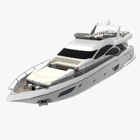 3d engines cruising azimut model