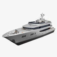 3d carpe diem yacht model