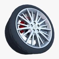 3d maserati quattroporte gt- s model