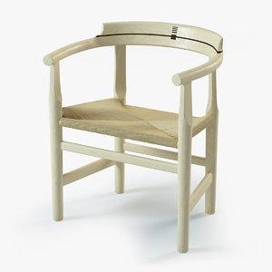 3d danish ferry chair model