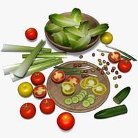 salad es model