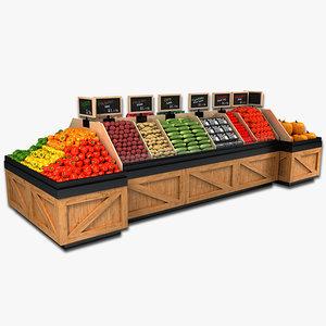 vegetable display max