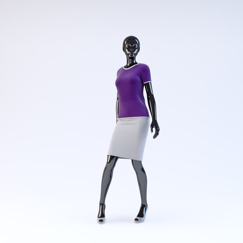3d showroom mannequin 022