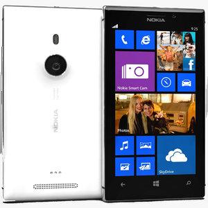 3ds max nokia lumia 925 white