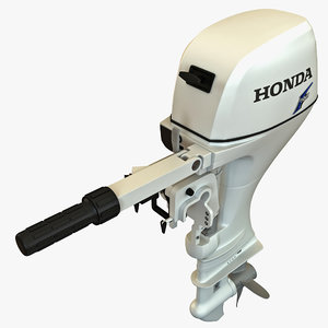 3d outboard engine honda bf20 model