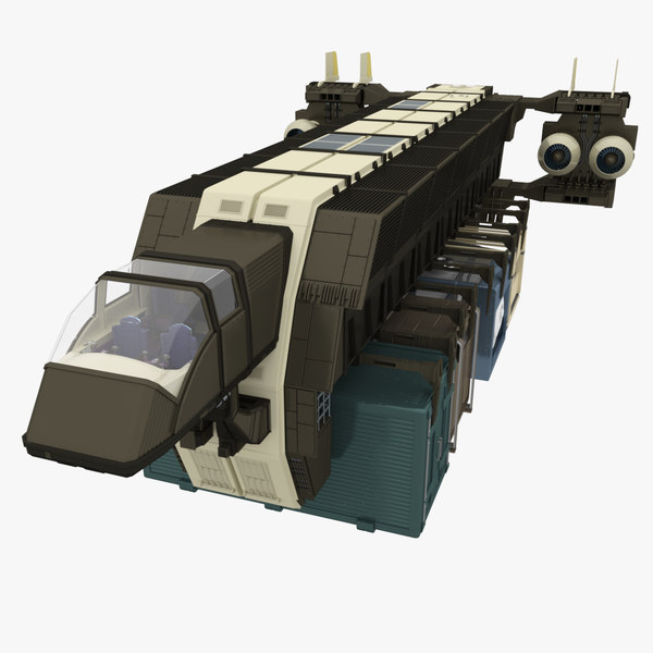 3d max - transporter