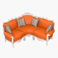 max modense gastone corner sofa