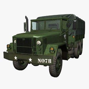 m35 cargo truck 3d max