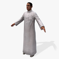 Real-Time Arabic Civilian Male-4