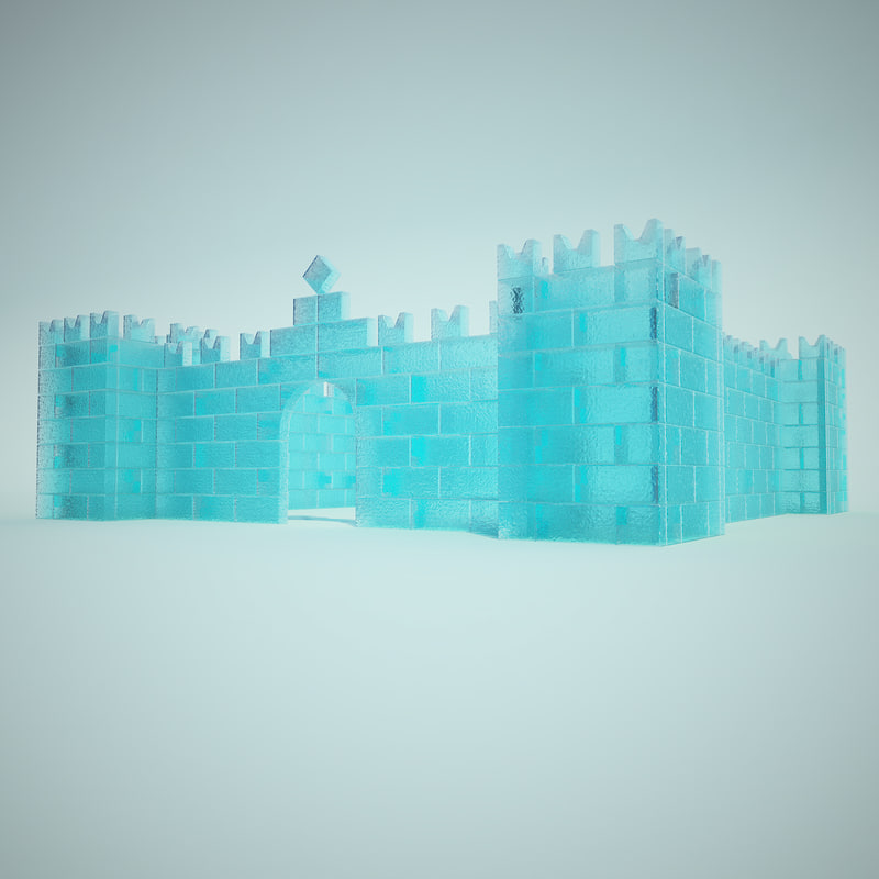 ice fortress 3d model