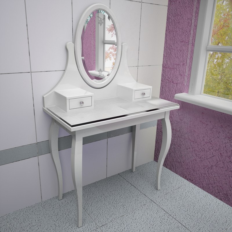 dressing table 3d max