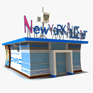 3d model toon nypd