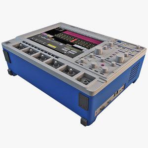 3d model lecroy waverunner oscilloscope