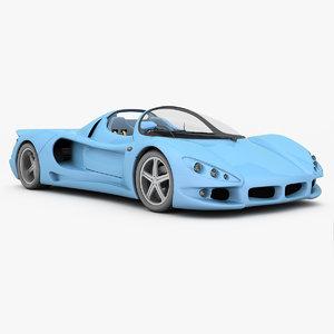 car minotaur mk2 3d model