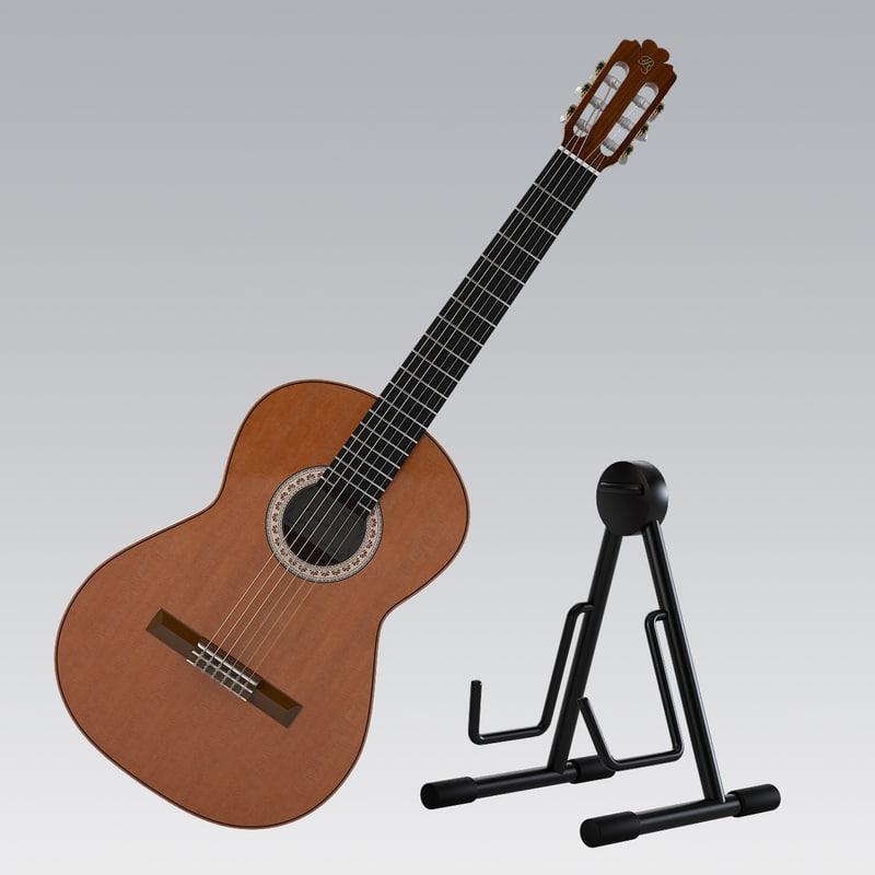 3d guitar kit