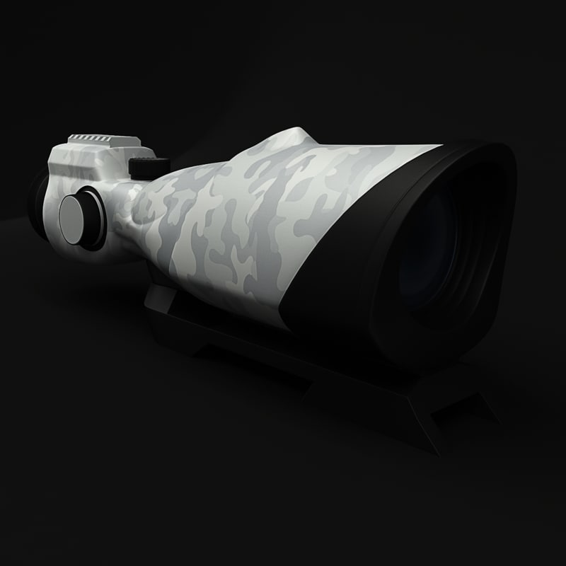 optical sight 3d max