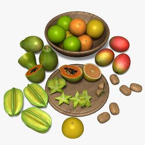 s max tropical fruits