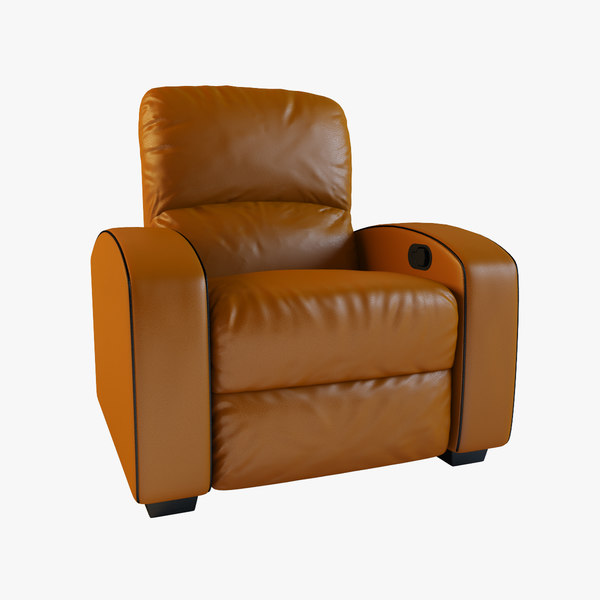 max home theater leather recliner