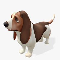 max cartoon animals basset real-time