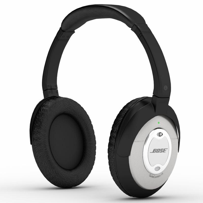 0b119d08439 3d model bose quietcomfort acoustic noise