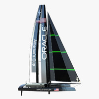 Catamaran Oracle AC72