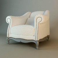 armchair jnl moliere 3d model