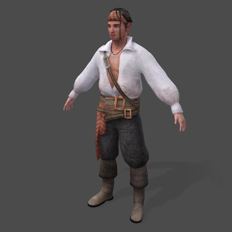 3d pirates shipyard master real-time
