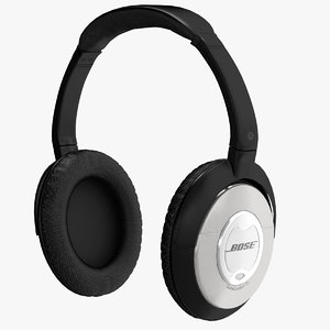 3d model bose quietcomfort acoustic noise
