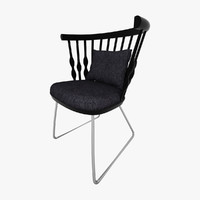 chair andreu world 3d max