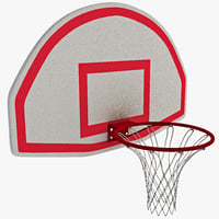 Basketball Hoop With Curved Backboard