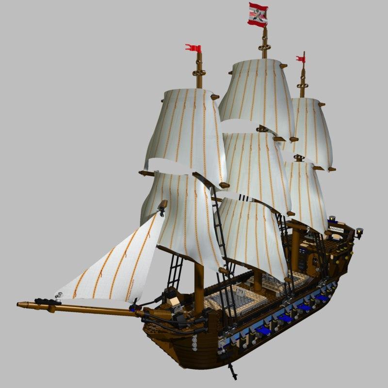 cinema4d imperial flagship ship