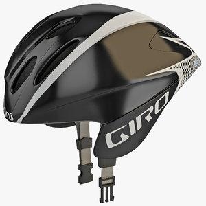 road race helmet giro 3d model