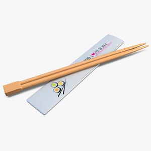 sushi sticks 3d 3ds