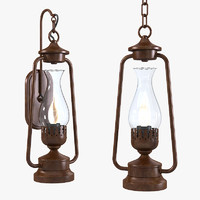 lantern rustic 3ds