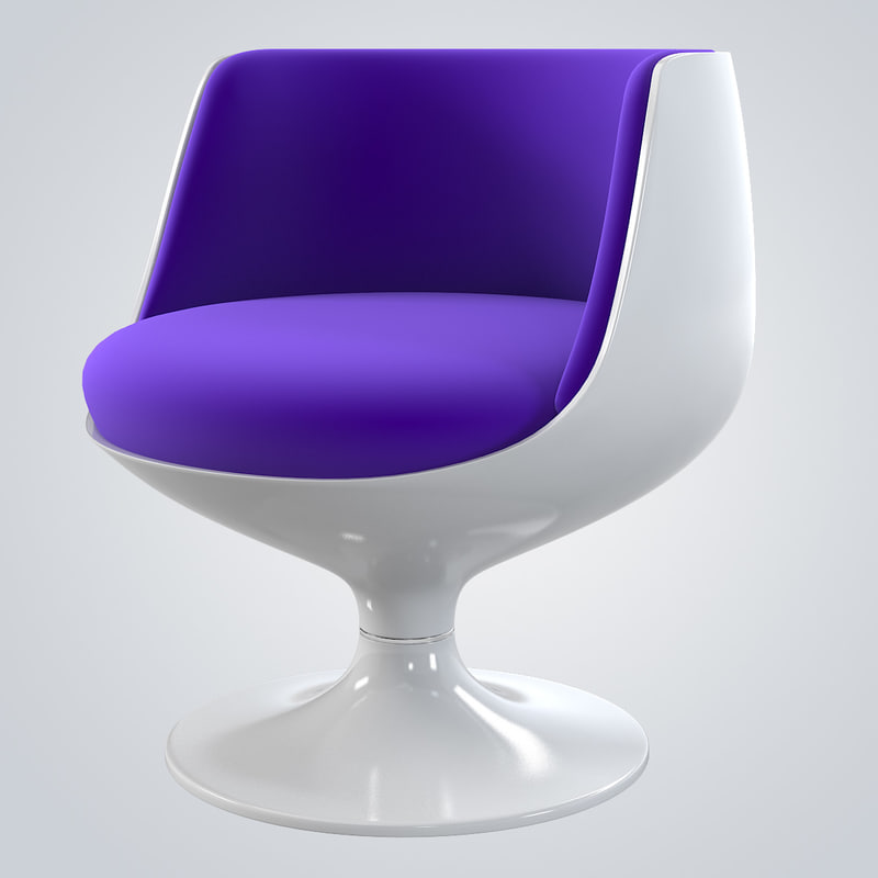 3d cognac chair eero aarnio model