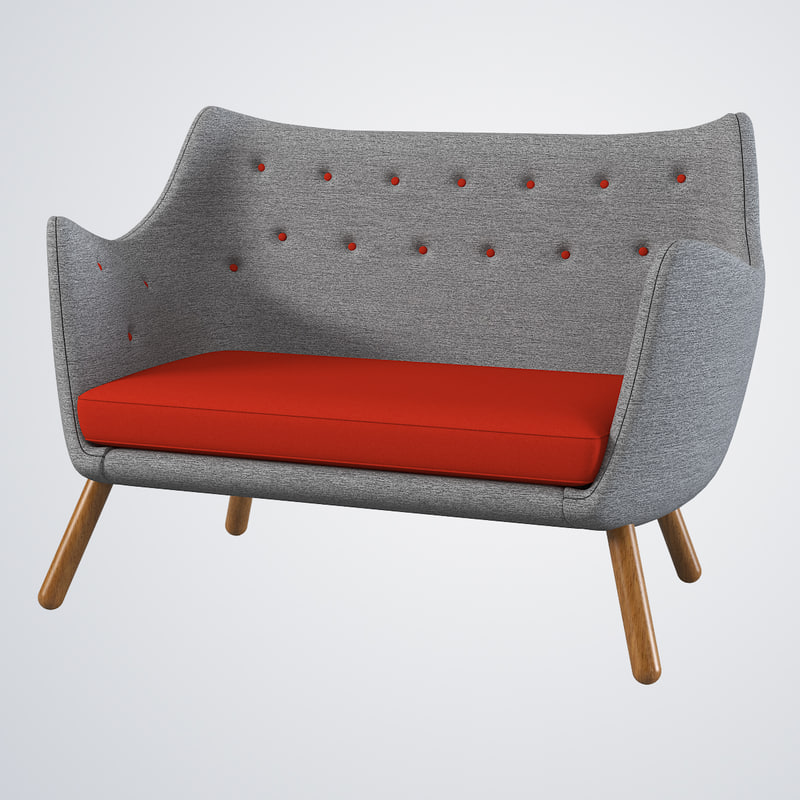 poet sofa 3ds