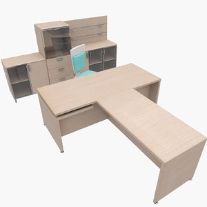 3dsmax office furniture