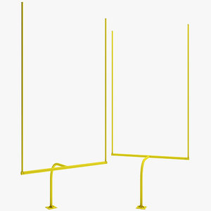football goalposts posts max