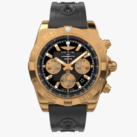 breitling chronomat gold rubber max