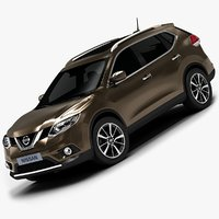 2014 Nissan Rogue (Low Interior)