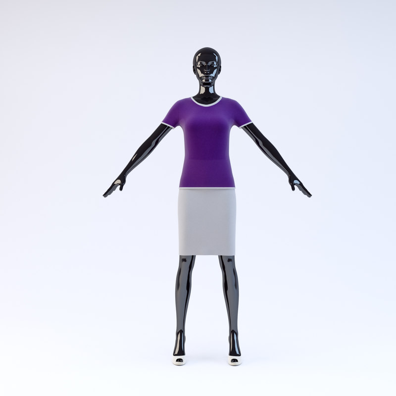 3ds showroom mannequin 021