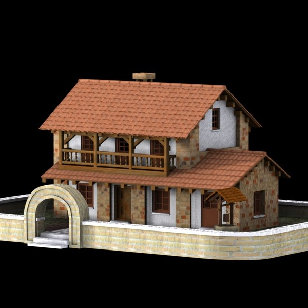 authentic house cottage max
