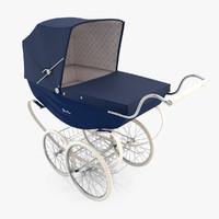 silver stroller 3ds