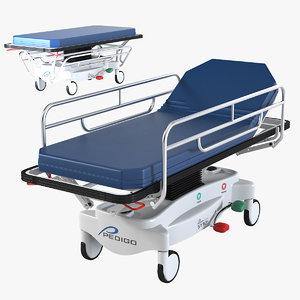 max pedigo general transport stretcher