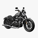 Softail 3D models