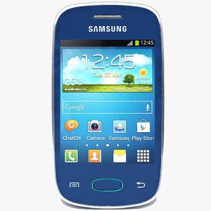 samsung galaxy pocket neo 3d c4d